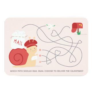 Cartão dos namorados da sala de aula da atividade