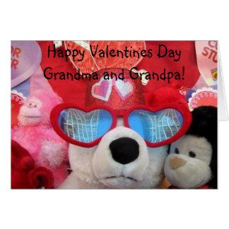 Cartão dos namorados das avós