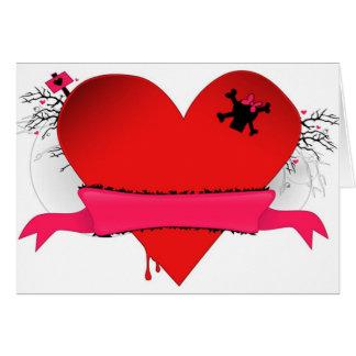 Cartão dos namorados de Punked
