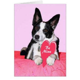 """Cartão dos namorados - """"Magpie """""""