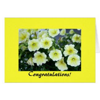 Cartão dos parabéns