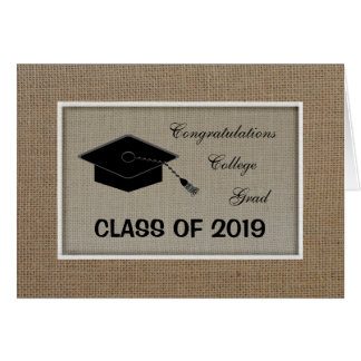Cartão dos parabéns dos formandos