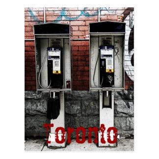 Cartão dos payphones de Toronto