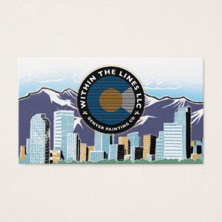 cartão dos pintores de Denver