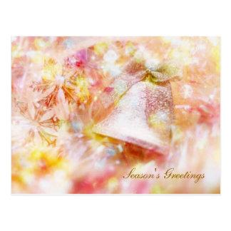 Cartão dos sinos de Natal Cartao Postal