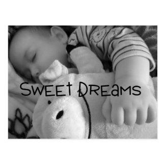 cartão dos sonhos doces