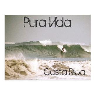 Cartão dos surfistas de Costa Rica Cartão Postal