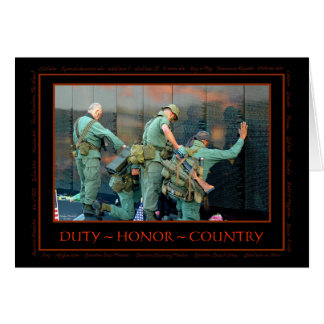 Cartão dos veteranos