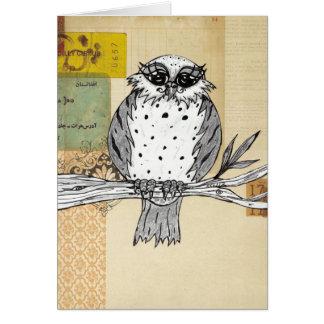 Cartão Dotti a coruja 26