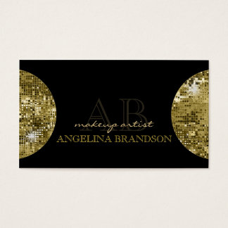 Cartão dourado cintilante do preto do damasco da