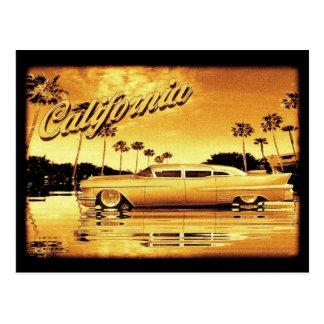 cartão dourado do limo de Califórnia