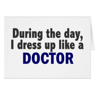Cartão Doutor durante o dia
