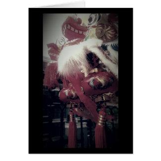 Cartão Dragão chinês