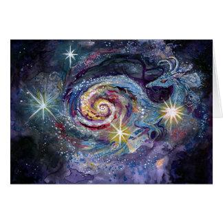 Cartão Dragão da galáxia