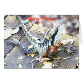 Cartão Dragão de água
