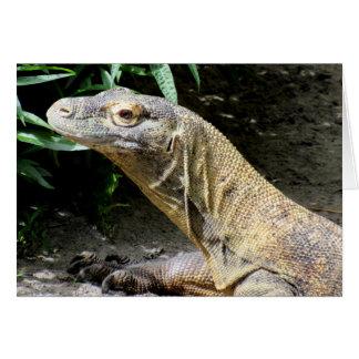Cartão Dragão de Komodo (0804)