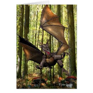 Cartão Dragão de vôo