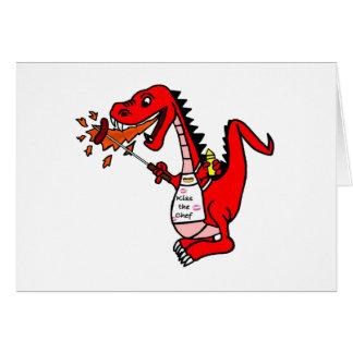 Cartão Dragão do CHURRASCO