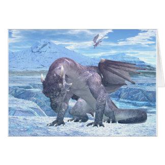 Cartão Dragão do gelo