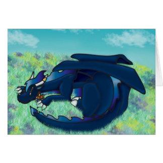 Cartão Dragão do sono
