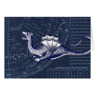 Cartão Dragão na carta de Bue Gobal