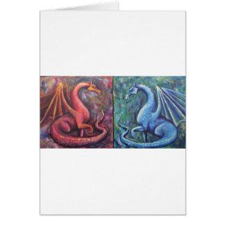 Cartão Dragões de Xin
