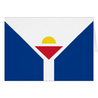 Cartão Drapeau de St Martin - bandeira de St Martin