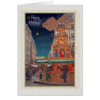 Cartão Dresden - Weihnachtspyramide - HH W
