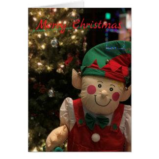 Cartão Duende do Natal