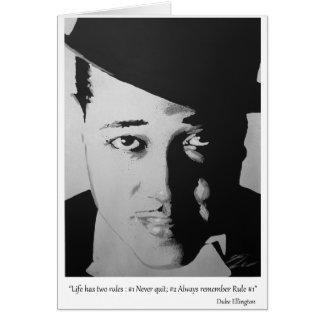 Cartão Duke Ellington