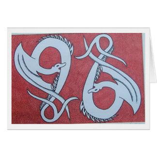 Cartão duo do dragão