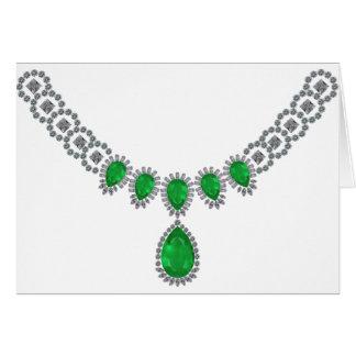 Cartão Duquesa das esmeraldas de Windsor