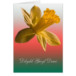 Cartão Dydd Gwyl Dewi Sant card_vertical