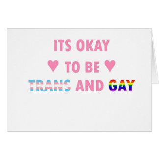 Cartão É aprovado ser o transporte e o gay (v1)