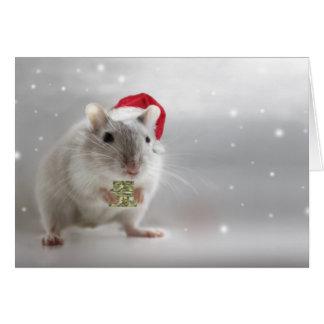 Cartão É aqui pouco presente do Natal para você xxx