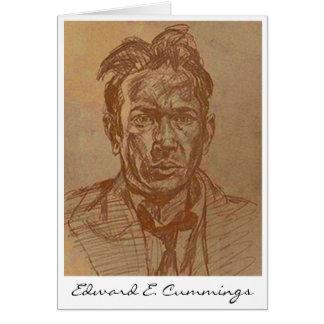 Cartão E.E.Cummings