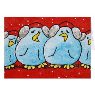 Cartão e envelope de LimbBirds