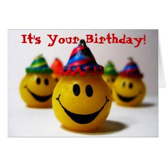 Cartão É seu aniversário!