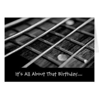 Cartão É toda sobre esse aniversário… que eu significo… o