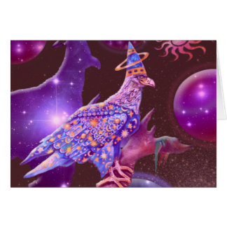 Cartão Eagle - andarilho celestial