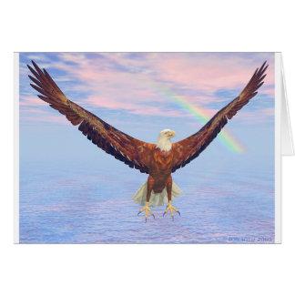 Cartão Eagle está para trás