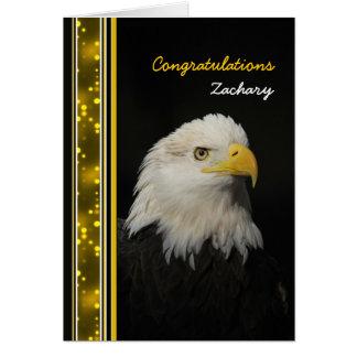 Cartão Eagle - parabéns - realização - outro uso