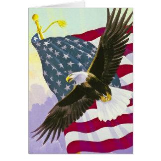 Cartão Eagle subindo