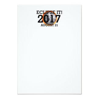 Cartão Eclipse do T ele 2017