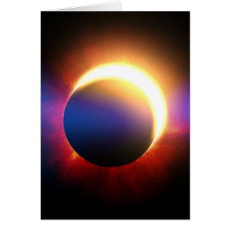 Cartão Eclipse solar