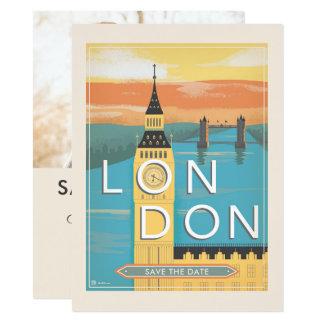 Cartão Economias de Londres | a data - foto