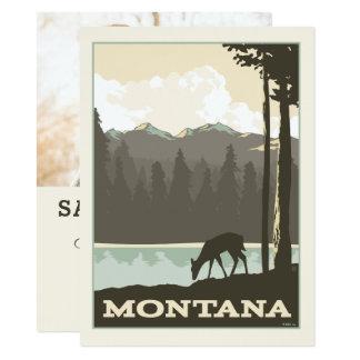 Cartão Economias de Montana   a data - foto