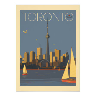 Cartão Economias de Toronto Canadá | a data - foto