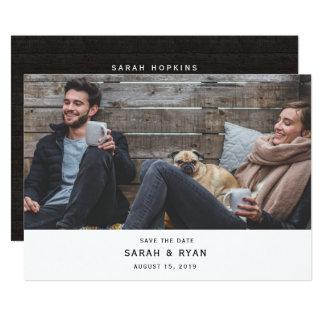 Cartão Economias modernas à moda do casamento da foto o