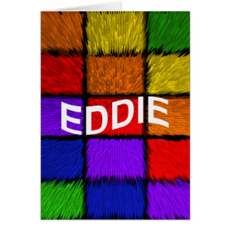 CARTÃO EDDIE